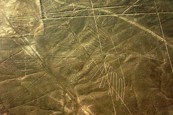 Vogel – Nazca-Linien, Peru