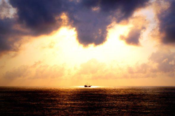 Sonnenuntergang in Puerto Vallarta