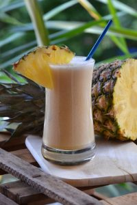 Saftiger Cocktail Piña Colada
