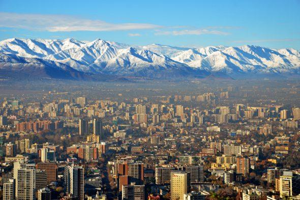 Hauptstadt von Chile: Santiago