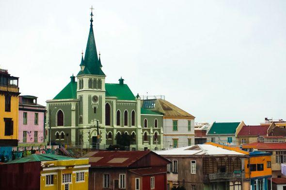 Kulturstadt Valparaíso in Chile