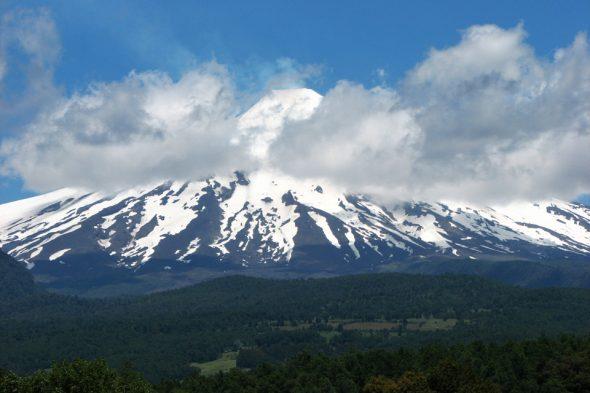 Vulkan Villarica in Chile