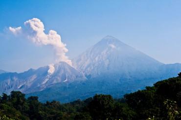 Santa María – der gewaltigste Vulkan Guatemalas