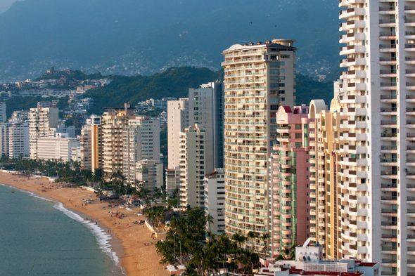 Strand von Acapulco, Mexiko