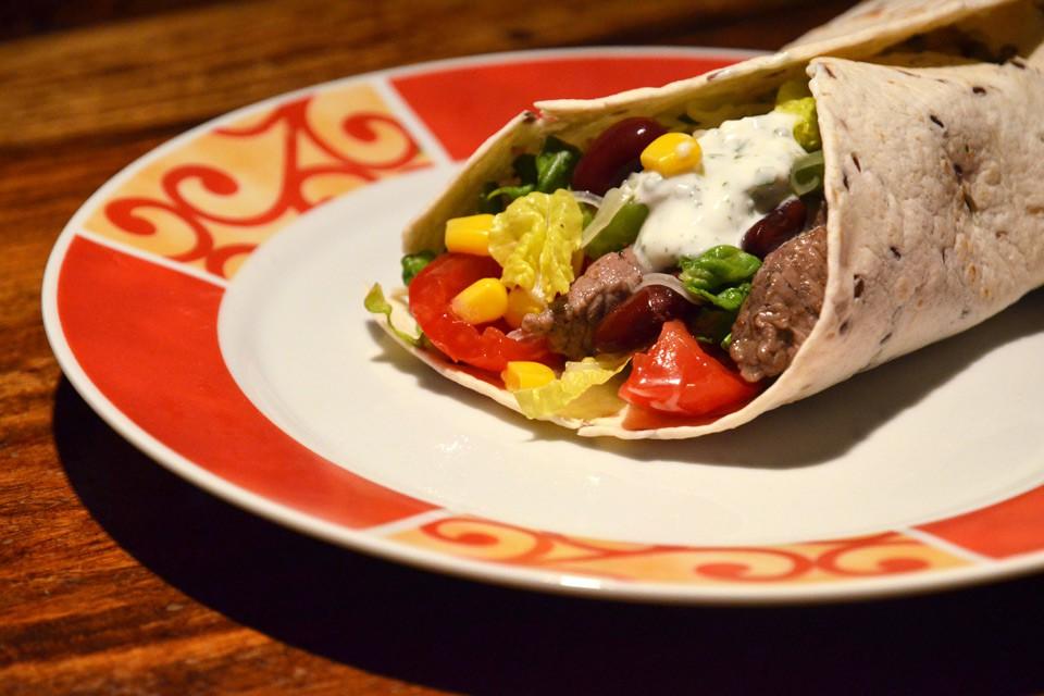 Burrito aus Mexiko