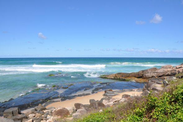 Strand Santinho auf der Insel Santa Catarina