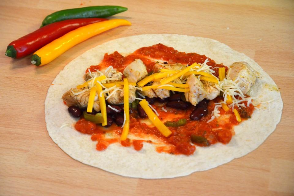 Nun noch einrollen: Enchiladas