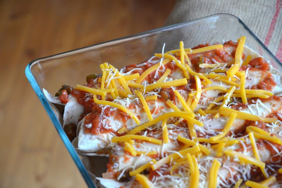 Enchiladas – kurz vorm Überbacken