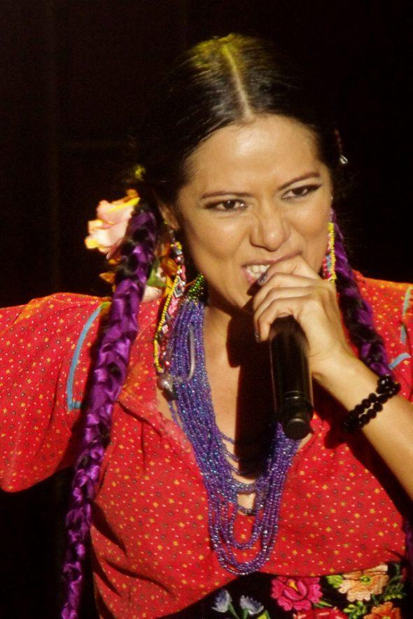 Mexikanische Sängerin Lila Downs
