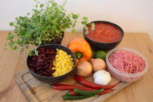 Chili con Carne – Zutaten