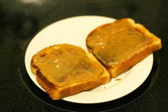 Toast mit Dulce de Leche