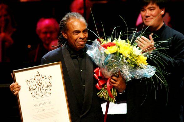 Preisverleihung an Gilberto Gil