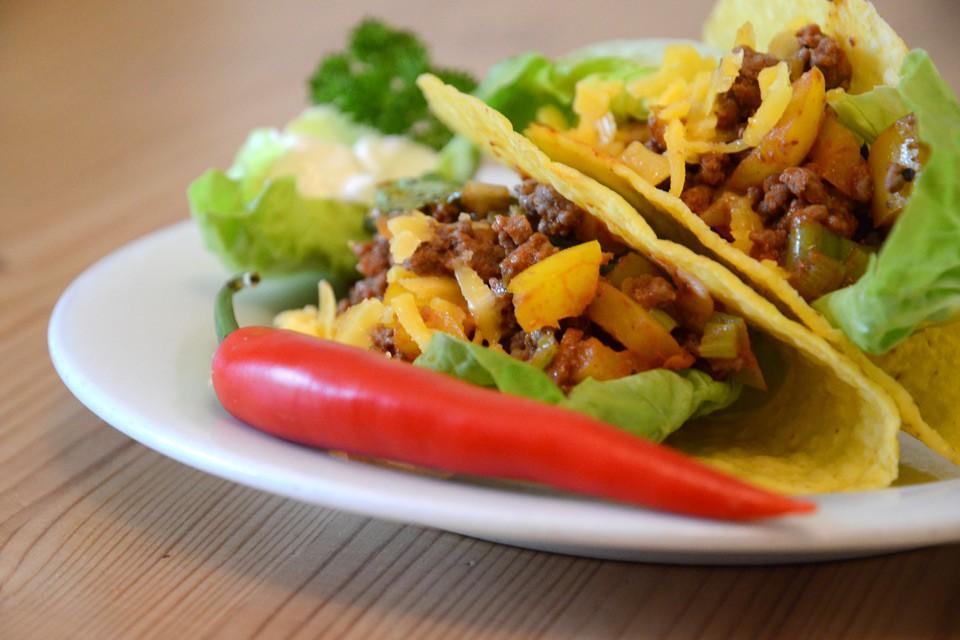 Tacos aus Mexiko – Das Original-Rezept mit Hackfleisch