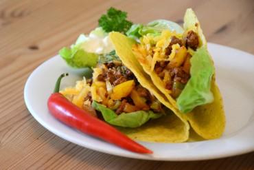 Tacos aus Mexiko inspiriert – Rezept mit Hackfleisch