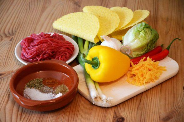 Mexikanische Tacos – Zutaten