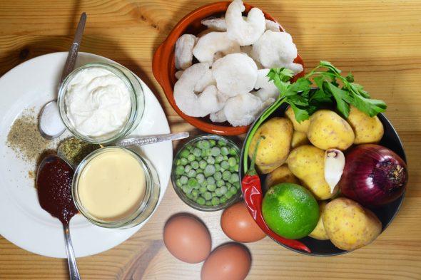 Garnelen-Suppe aus Peru – Zutatenliste