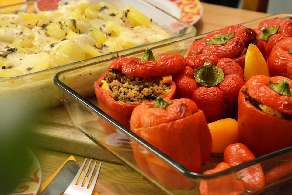 Rocotos Rellenos – Original-Rezept gefüllter Paprika-Schoten aus Peru