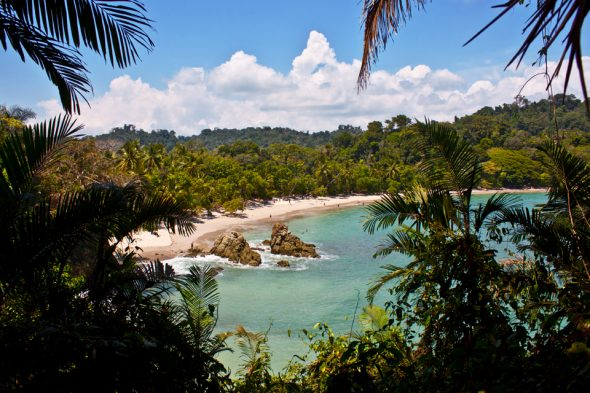 Strand im Manuel-Antonio-Nationalpark