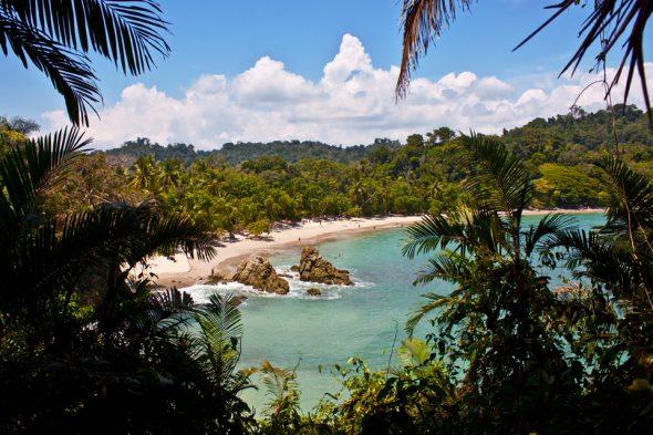 Strand im Manuel-Antonio-Nationalpark
