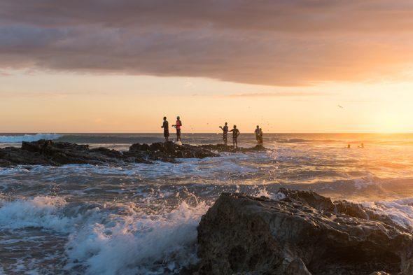 Playa Santa Teresa – Surfer-Strand