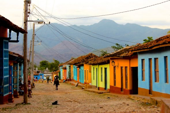 Gebirge im HIntergrund von Trinidad, Kuba