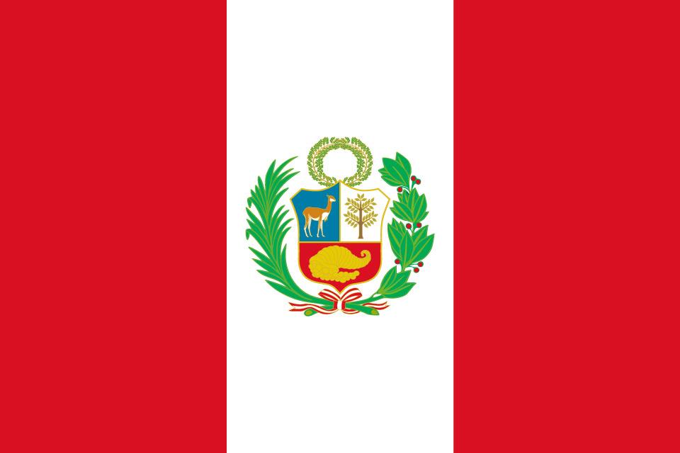 Die Flagge von Peru – Bedeutung der Farben und Symbole