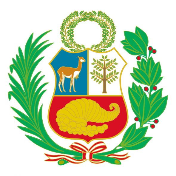 Staatswappen Perus