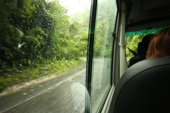 Regenzeit in Costa Rica