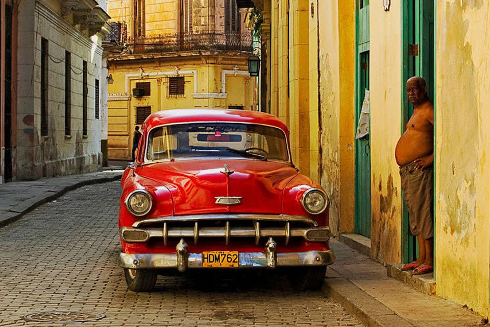 Oldtimer in Kubas Hauptstadt Havanna