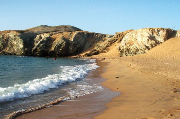 Strand am Cabo de la Vela