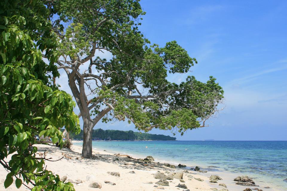 Strand auf der Isla Barú