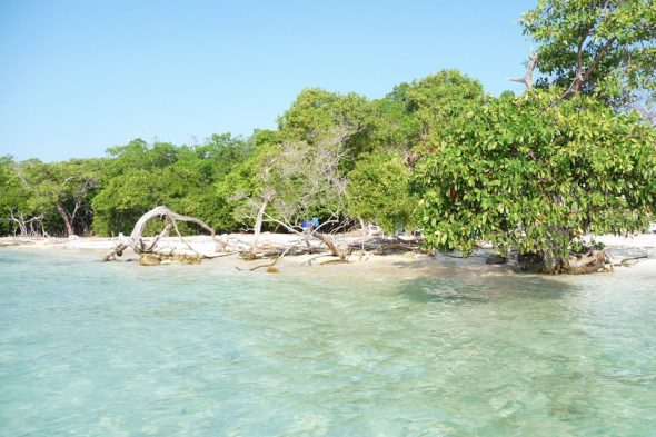 Strand auf der Insel Múcura (San Bernado)