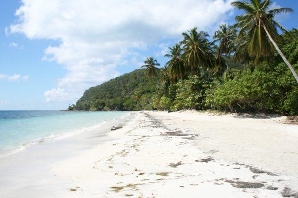 Strand auf der Insel Providencia