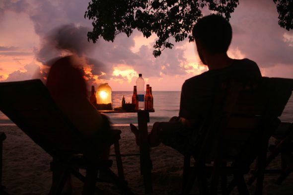 Abends am Playa Blanca