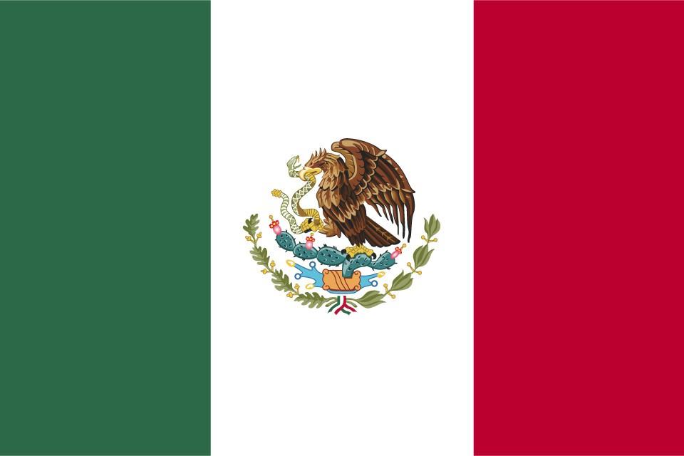 Flagge von Mexiko – Bedeutung der Farben und Symbole